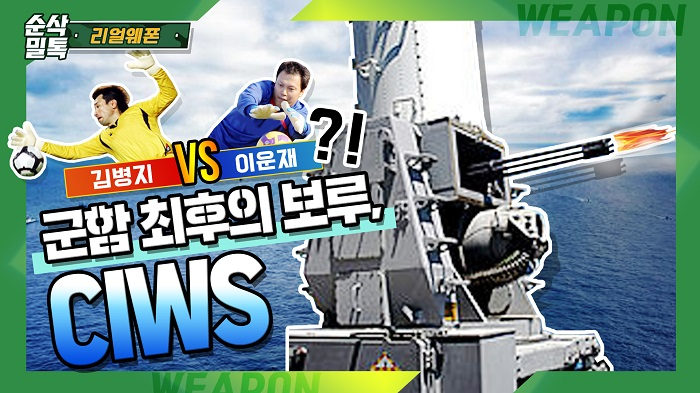 군함 최후의 보루, 근접방어무기