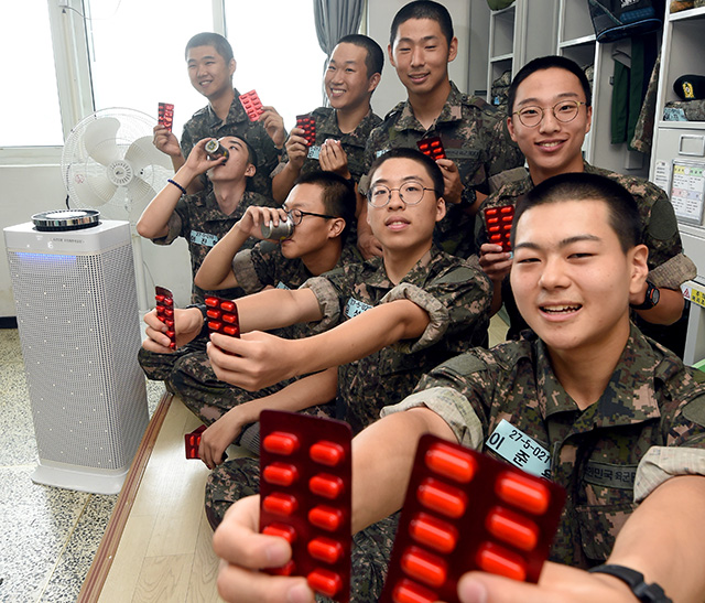 다양한 노력으로…훈련병 건강 '레벨업' 육군훈련소, 폐렴 발병률 지난해 상반기 대비 75%